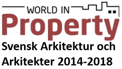 ... föreläser på konferensen Svensk arkitektur och arkitekter 2014-2018
