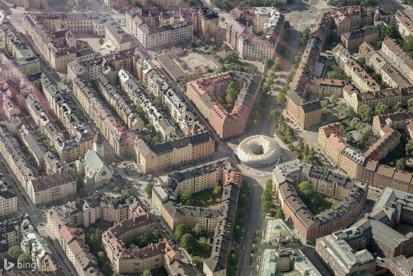 BuzzBuilding aerial view