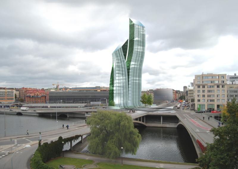 rb arkitektur kungsbroskrapan stockholm city stadsplanering höghus skyskrapa