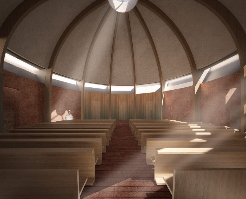 Ethiopian Church by Belatchew Arkitekter