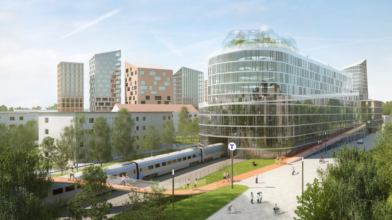 Belatchew Labs - Stockholm Loop - Gubbängen/Hökarängen Running Track (exterior)