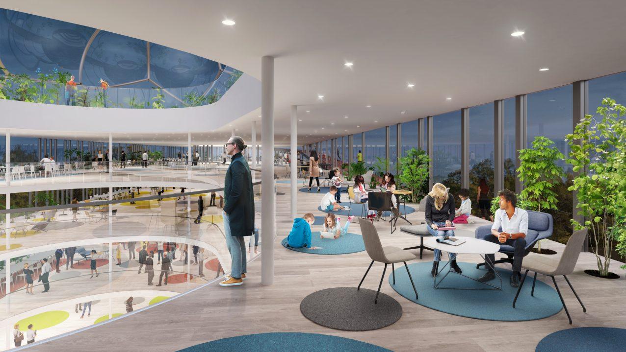 Belatchew Labs - Stockholm Loop - Gubbängen/Hökarängen Running Track (interior)