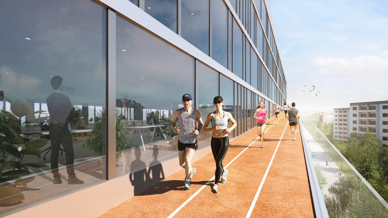 Belatchew Labs - Stockholm Loop - Gubbängen/Hökarängen Running Track